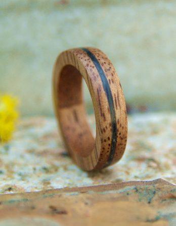 кольцо wood&сarbon