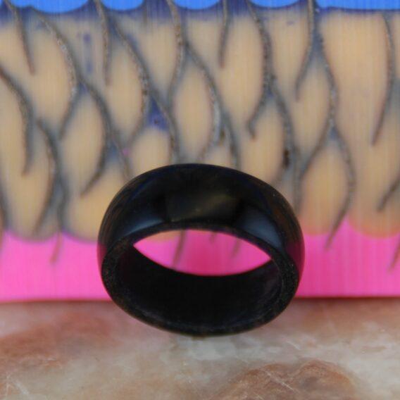 кольцо из дерева (Макасар), Деревянное кольцо, Makasar wood