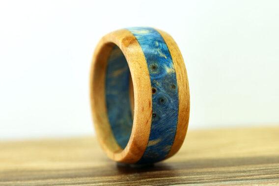 украшения из дерева, деревянное кольцо москва wooden ring burl and beech